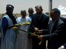 تدشين توسعة كهربائية على طول 50 كلم جنوب شرقي موريتانيا