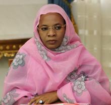 خديجة مبارك فال مندوبة موريتانيا في اجتماع رفيع المستوى حول ليبيا