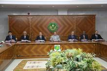 عاجل  بعد التعييرات التي شهدتها الحكومة اجتماع استثنائي لمجلس الوزراء
