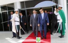 """بعد قمة """"دكار"""" ولد عبد العزيز يعود إلى العاصمة """" انواكشوط """""""