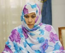 بنت مكناس تلتقي السفير التركي  بأنواكشوط