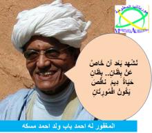 المرحوم احد باب ولد احمد مسكه ، الشاعرية الجياشة.. والكثير والكثير.