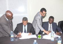 توقيع شراكة بين سلطة تنظيم الصفقات والوطنية للإدارة