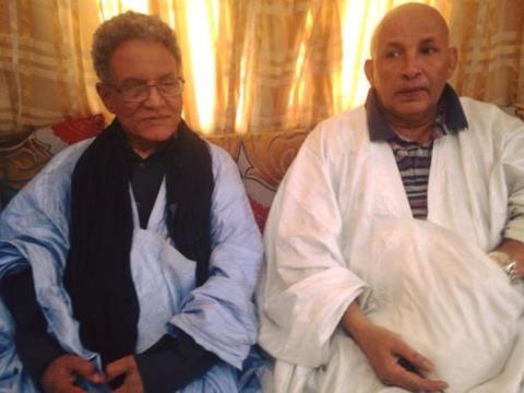 Ahmed baba Miské et Abdel Kader Ould Mohamed