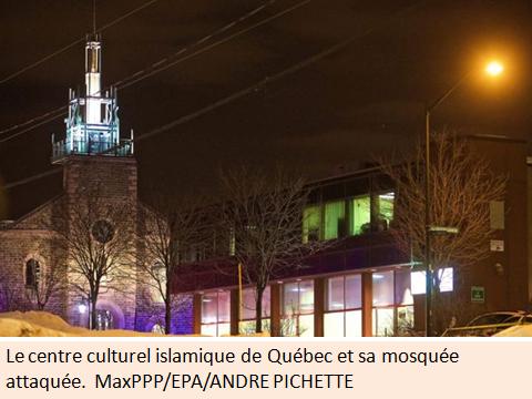Message de solidarité avec les Québecois