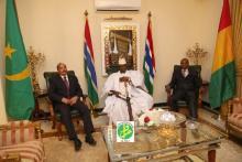 Urgent : Succès de la médiation du président mauritanien et son homologue guinéen dans la crise gambienne