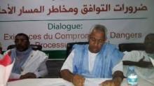 Colloque politique organisée à Nouakchott par l'institution de l'opposition démocratique