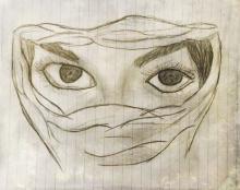 Dessin de ASMA .MEB  fille de Aïcha Amar : Nouakchott Mauritanie