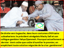 Crise gambienne :  Macky Sall, un va-t-en guerre !