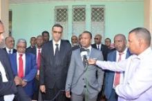 Le Ministre de la Jeunesse et des Sports entame ses visites de terrain