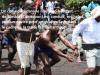 Scène d'une pièce théâtrale dénonçant la traite négrière au Cameroun